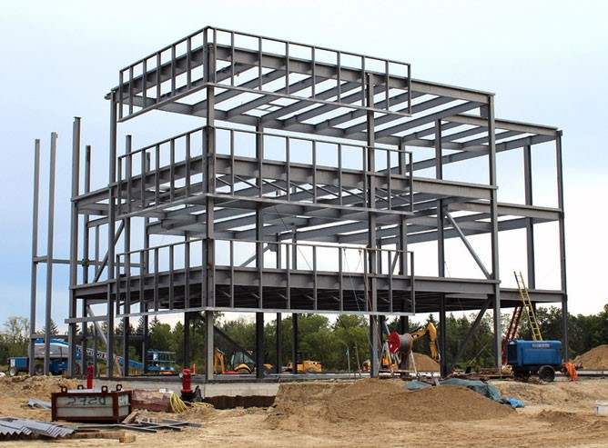 Construction Sequence Of A Steel Frame Building